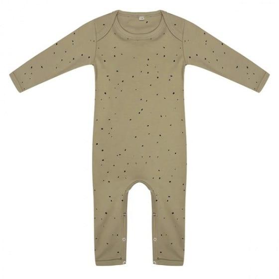 little indians jumpsuit dots junior katoen groen zwart 419878 1592465632 1