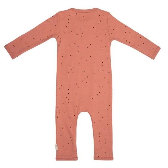 little indians jumpsuit dots junior katoen terracotta zwart 2 419904 1592466490 2