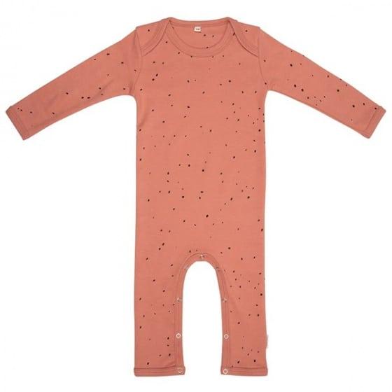little indians jumpsuit dots junior katoen terracotta zwart 419904 1592466490 2