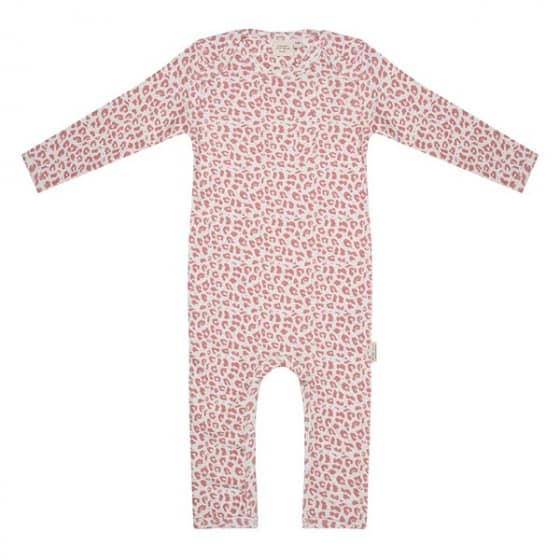 little indians jumpsuit leopard meisjes katoen roze wit 419684 1592459853 3