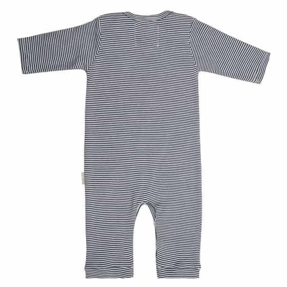 little indians jumpsuit stripe junior katoen grijs zwart mt 62 2 452400 20200831125904