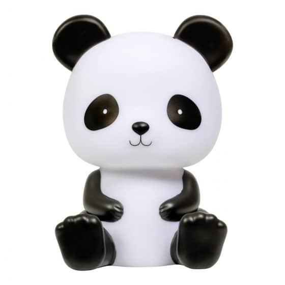 little lovely nachtlamp panda junior 19 cm pvc zwart wit 426256 1593518697