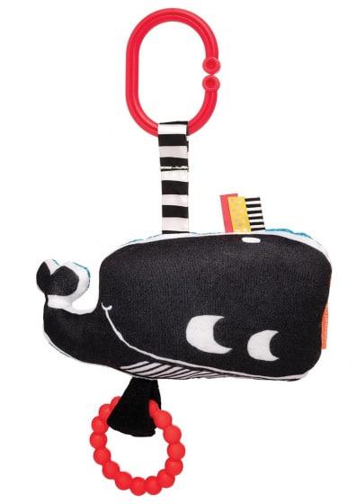 manhattan toy hangfiguur wimmer ferguson whale junior zwart wit 423826 1593006031