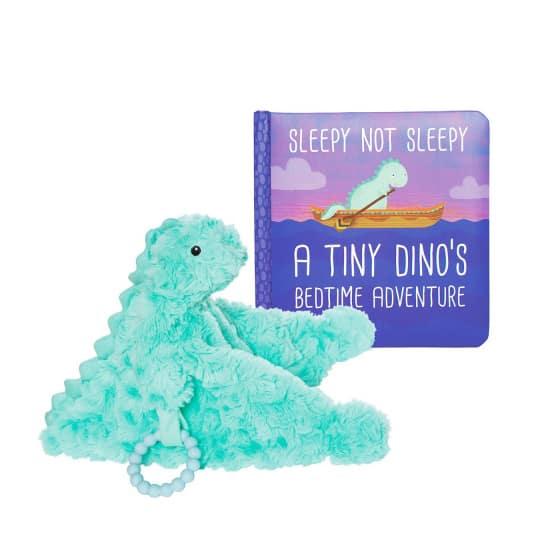 manhattan toy knuffeldeken chomp junior 12 cm pluche turquoise 4 425371 1593417203