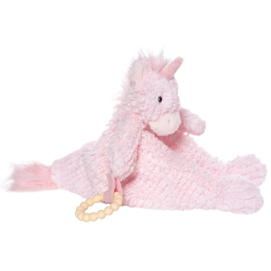 manhattan toy speelgoed petals unicorn blankie pluche roze 2 423899 1593010653