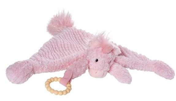 manhattan toy speelgoed petals unicorn blankie pluche roze 3 423899 20200624165828
