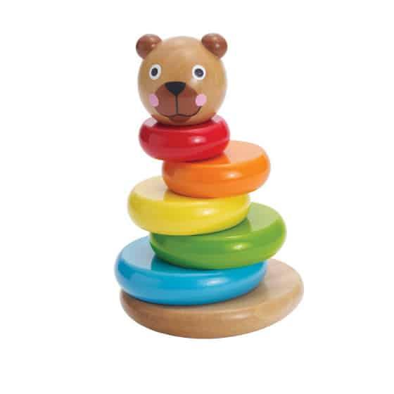 manhattan toy stapeltoren brilliant bear magnetic stack up hout 8 delig 3 422413 1592829204