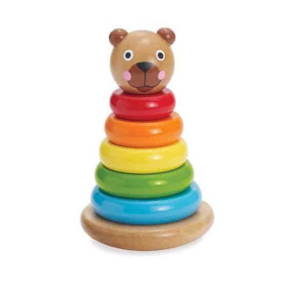 manhattan toy stapeltoren brilliant bear magnetic stack up hout 8 delig 422413 1592829204