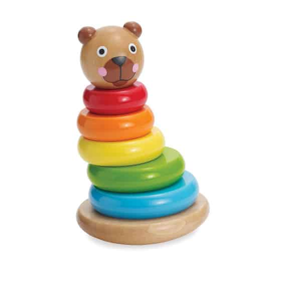 manhattan toy stapeltoren brilliant bear magnetic stack up hout 8 delig 4 422413 1592829205