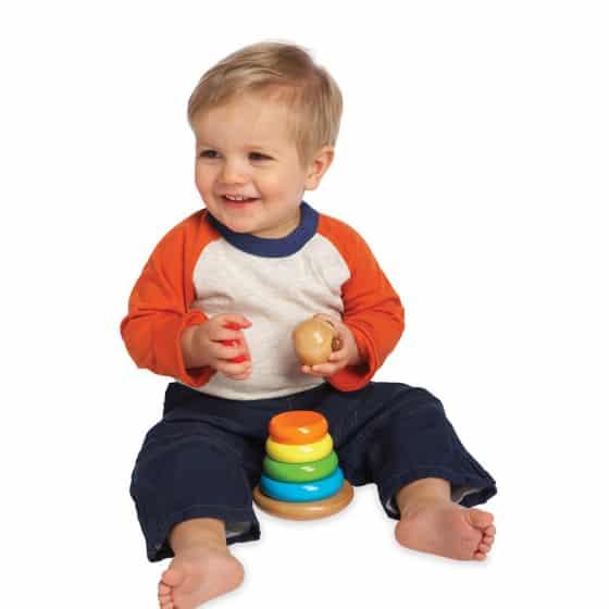 manhattan toy stapeltoren brilliant bear magnetic stack up hout 8 delig 5 422413 1592829205