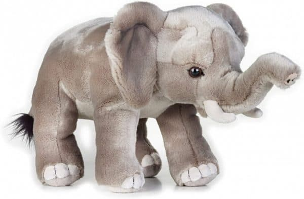 national geographic knuffel olifant junior 26 cm pluche grijs 419694 1592460919