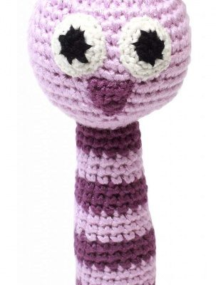 naturezoo rammelaar uil gehaakt 14 cm roze 332972 1573205961
