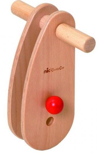 nic loopwagenstuur combicar hout 26 cm bruin 357612 1580208647