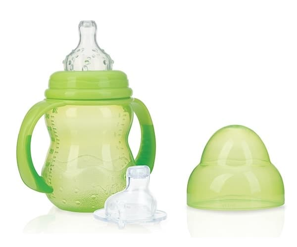 nuby trainingsfles anti lek 240 ml groen 369768 1584028324