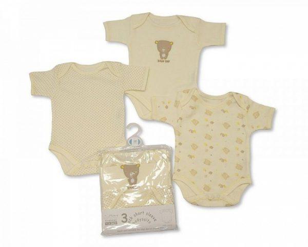 nursery time romper beer korte mouw beige 3 stuks 364512 1582198289 2
