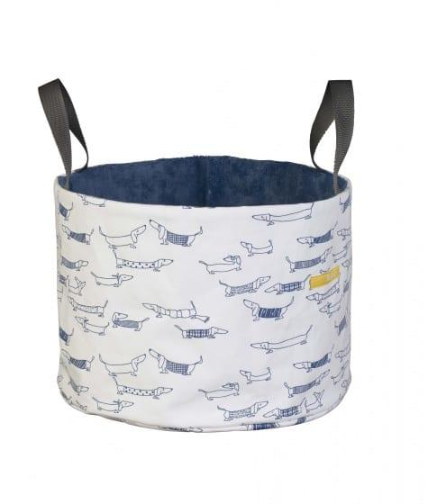 pericles opbergmand hond medium wit blauw 338166 1574667464