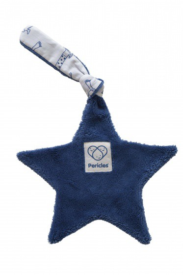 pericles speendoekje hond 22 cm blauw 2 337750 1574431475