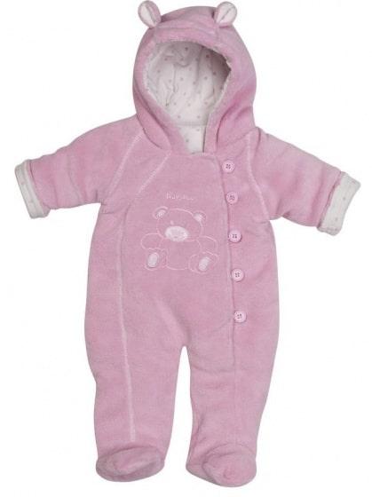 playshoes babypyjama jumpsuit fleece junior roze 336255 1574150179