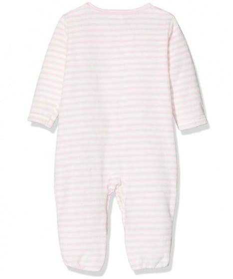 playshoes babypyjama olifant meisjes wit roze 2 338725 1574773644