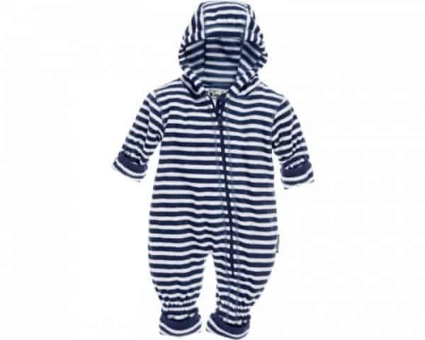 playshoes babypyjama onesie fleece junior gestreept navy 335625 1573980967