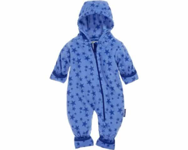 playshoes babypyjama onesie fleece junior sterren blauw 335601 1573979182 1