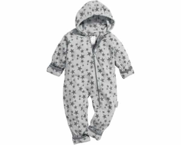playshoes babypyjama onesie fleece junior sterren grijs 335610 1573979715 2