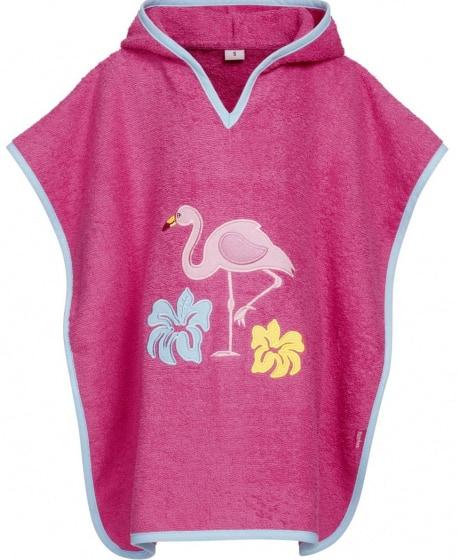 playshoes badponcho flamingo junior katoen roze 480780 1603377137 1