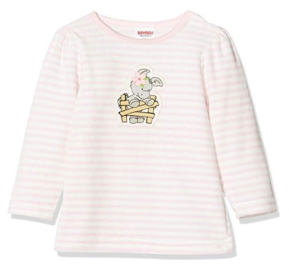 playshoes pyjamashirt olifant meisjes roze wit 338745 1574774945 4