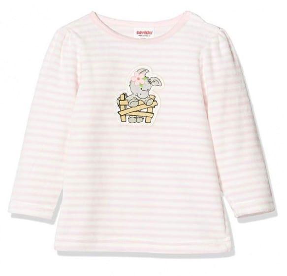 playshoes pyjamashirt olifant meisjes roze wit 338745 1574774945