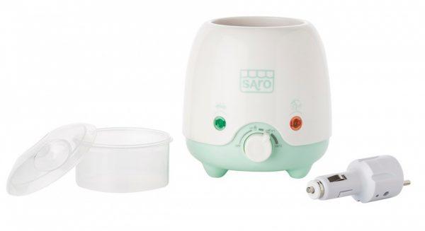 saro flessenwarmer elektrisch style thuis en auto wit groen 348574 1577979773