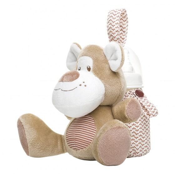 saro tas voor babyfles beer bruin 23 cm 349808 1578393578