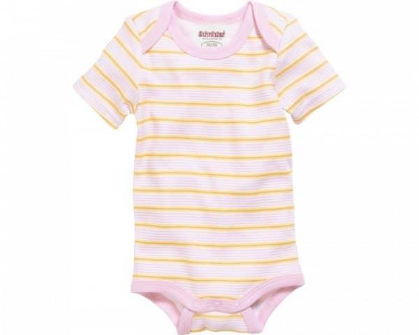 schnizler romper beren korte mouw roze geel 2 stuks mt 50 56 2 361022 1581073207 2