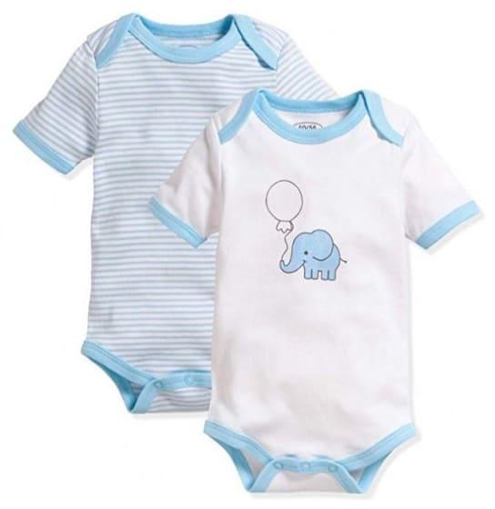schnizler romper olifant korte mouw blauw wit 2 stuks mt 50 56 355350 1579689794 1