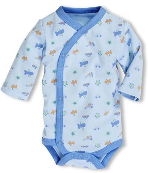 schnizler romper wrap body blue junior blauw 354612 1579590838