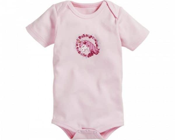 schnizler tomper unicorn korte mouw roze grijs 2 stuks 2 361072 1581077974