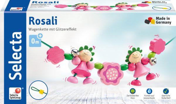 selecta kralenketting rosali meisjes hout roze groen 2 431533 1594377141