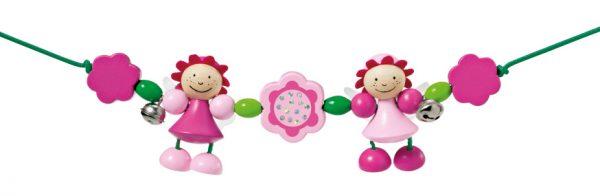 selecta kralenketting rosali meisjes hout roze groen 431533 20200710123318