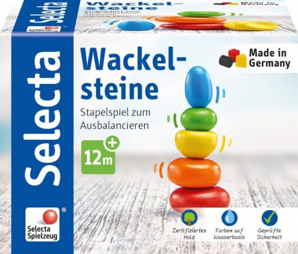 selecta stapeltoren wackel steine junior 115 cm hout 5 delig 2 433558 1594730455