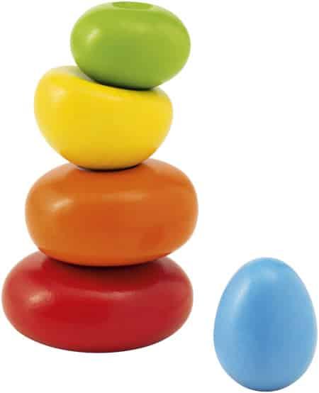 selecta stapeltoren wackel steine junior 115 cm hout 5 delig 433558 1594730455