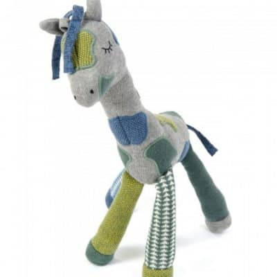 smallstuff rammelaarknuffel giraf 38 cm grijs groen 345883 1576854656