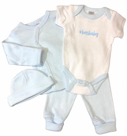 soft touch babykleding set boss katoen blauw 4 delig mt 50 56 472733 1602077174