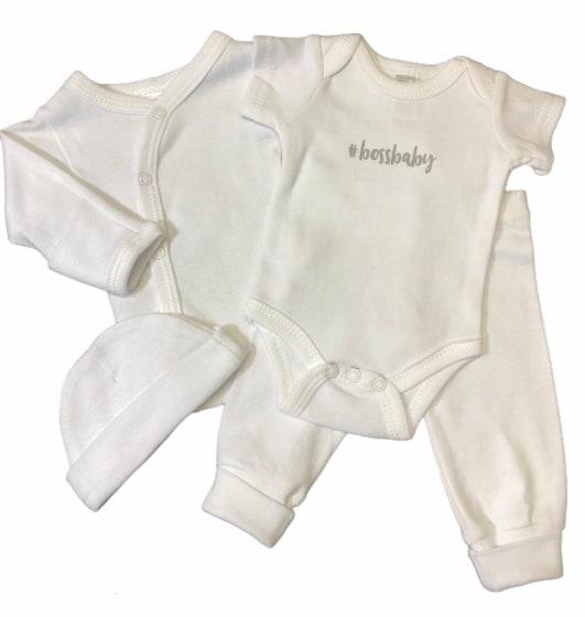 soft touch babykleding set boss katoen wit 4 delig mt 50 56 472744 1602077584