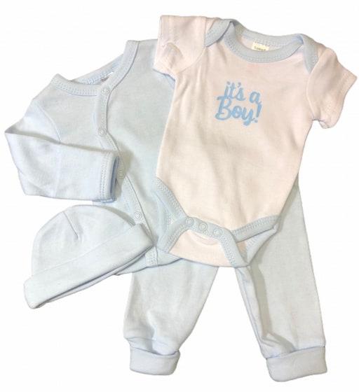 soft touch babykleding set its a boy blauw 4 delig mt 50 56 472751 1602077974