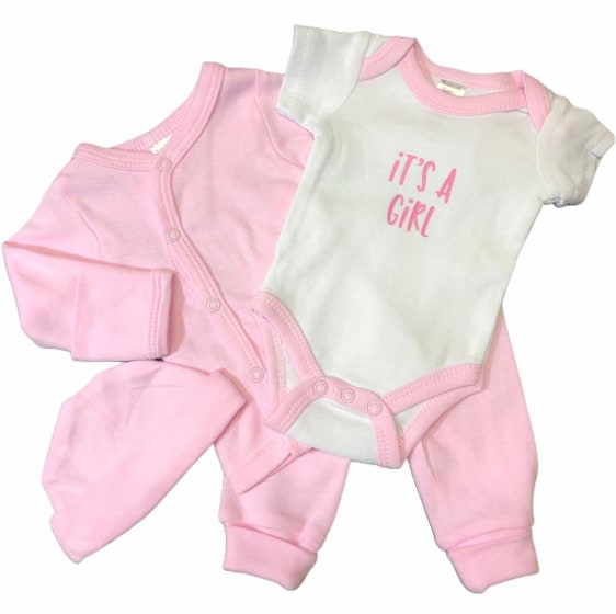 soft touch babykleding set its a girl roze 4 delig mt 50 56 472762 1602078593