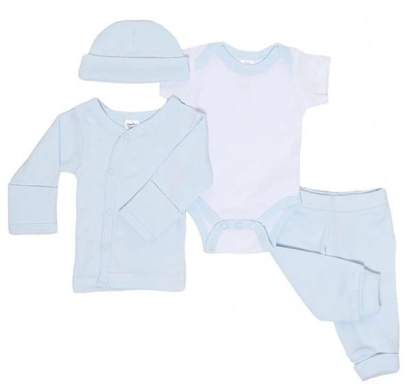 soft touch babykleding set jongens katoen blauw 4 delig mt 50 56 472722 1602076792