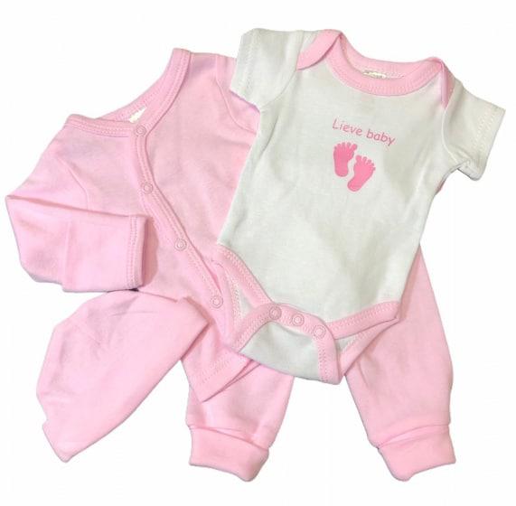 soft touch babykleding set lieve baby roze 4 delig mt 50 56 472757 1602078274