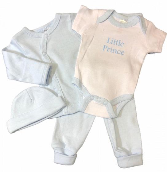 soft touch babykleding set prince blauw 4 delig mt 50 56 472797 1602079898