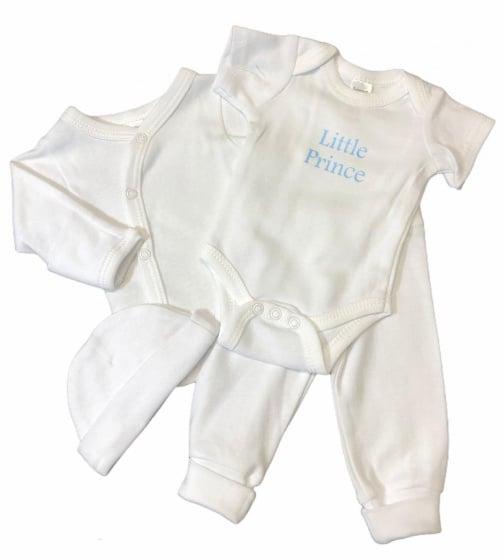 soft touch babykleding set prince wit 4 delig mt 50 56 472811 1602080624