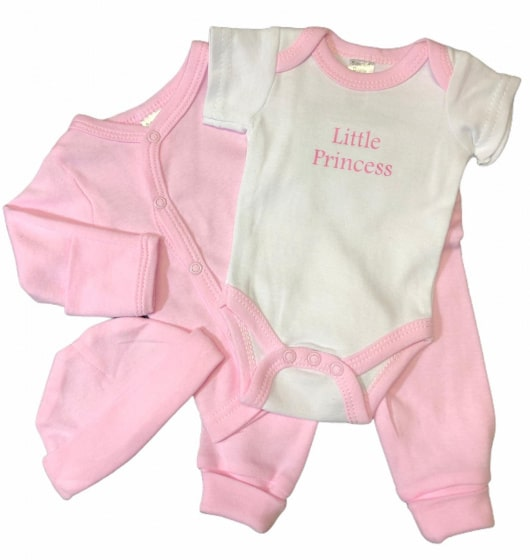 soft touch babykleding set princess roze 4 delig mt 50 56 472802 1602080190