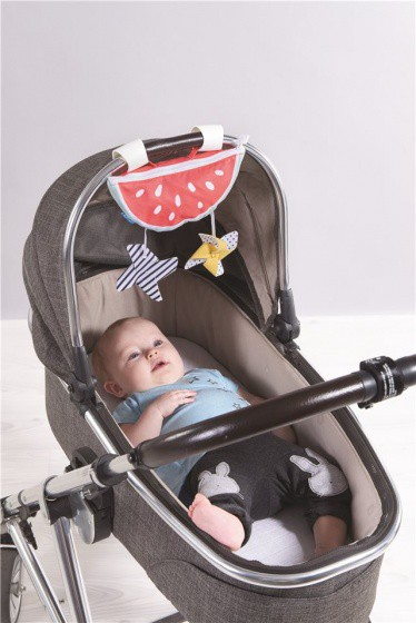 taf toys zonnescherm watermeloen wandelwagen 54 cm rood 2 340245 1575445861